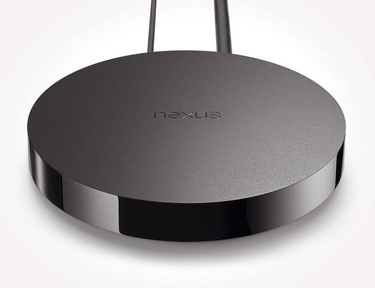 Vista dall'alto della console Nexus Player