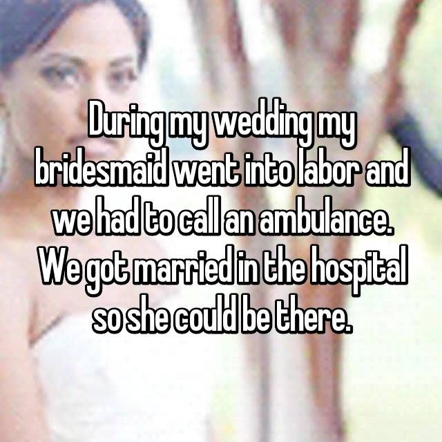 18 Weddings That Ended In The ER