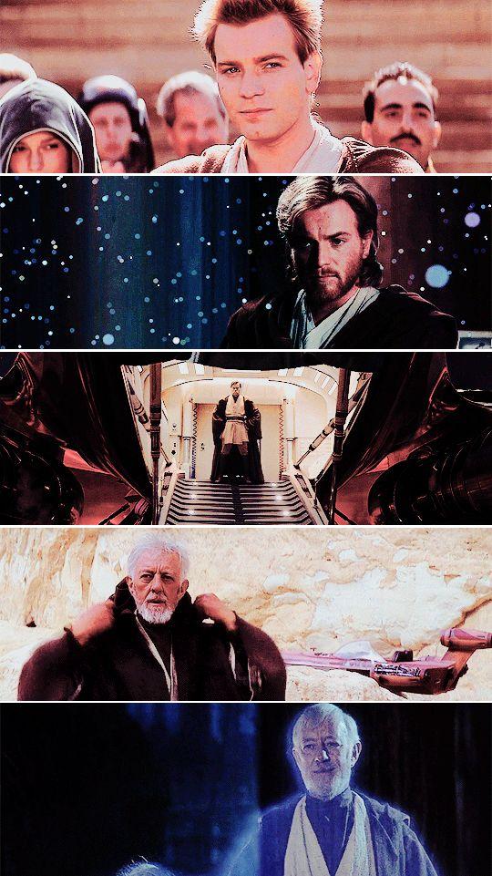 I love Obi Wan Kenobi!!!: If you strike me down, I shall become more powerful than you could possibly imagine. #starwars