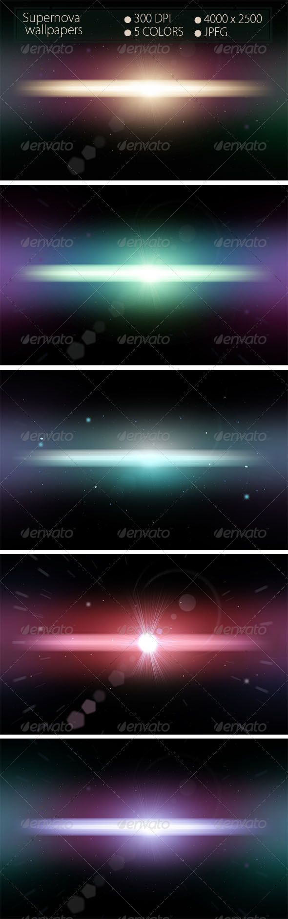 Supernova Backgrounds  #GraphicRiver          Supernova Wallpapers  - 5 Colors  - 4000×2500 Pixels  - 300 DPI  - JPEG                     Created: 12 December 13                    Graphics Files Included:   JPG Image                   High Resolution:   Yes                   Layered:   No                   Pixel Dimensions:   4000x2500                   Print Dimensions:   4000x2500             Tags      blur #blured #cosmic #dark #hd #hd wallpapers #hq #space #supernova #wallpapers #walls