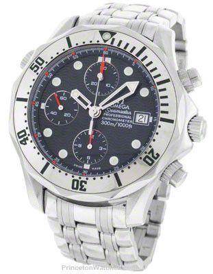Pre-Owned Mens Omega Seamaster Professional Chrono Diver - Chronometer