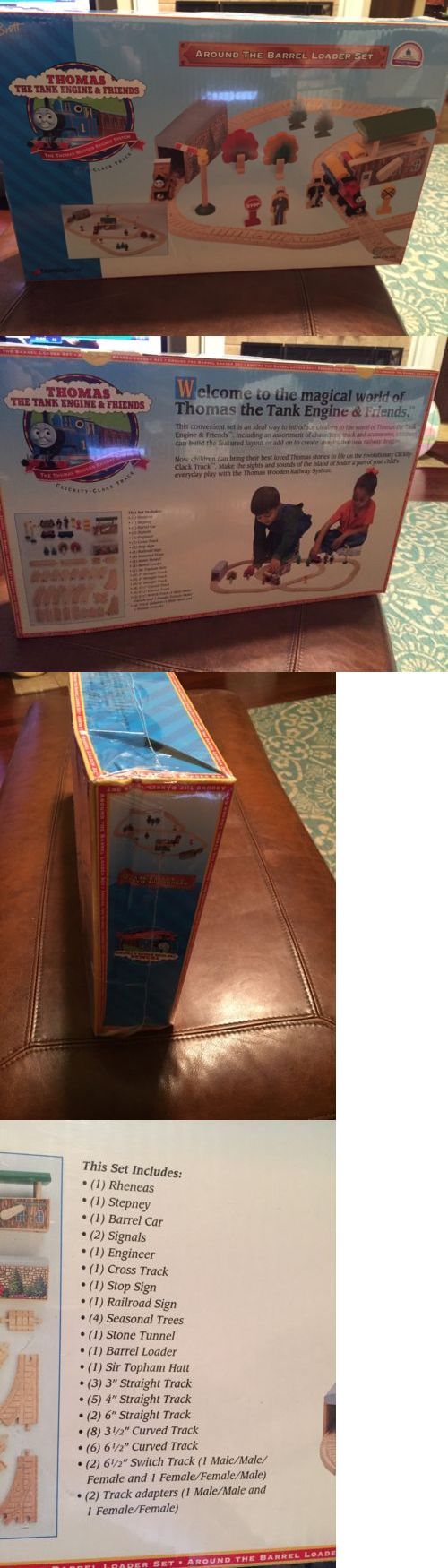 Other Thomas Toys 2629: Thomas And Friends Clickity Clack Track Around The Barrel Loader Set Brown Label -> BUY IT NOW ONLY: $300 on eBay!
