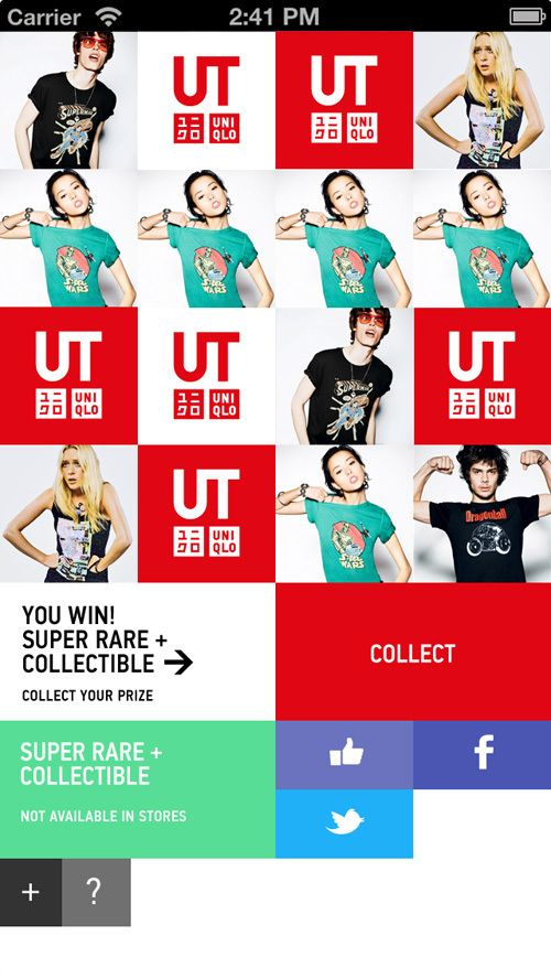 UNIQLO Digital Campaign by Alex Townsend, via Behance
