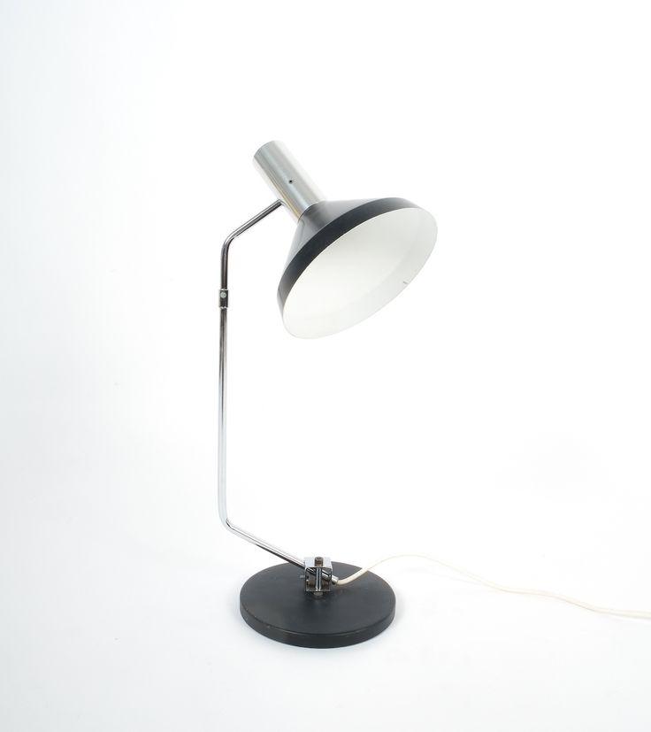 Baltensweiler Articulated Swiss Table Lamp, 1960. Rico And Rosemary  Baltensweiler Articulated Swiss Table Lamp