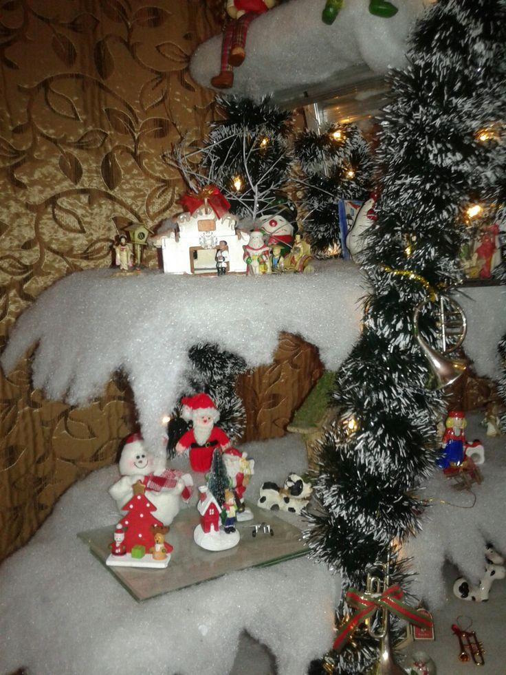 Christmas village detail 1