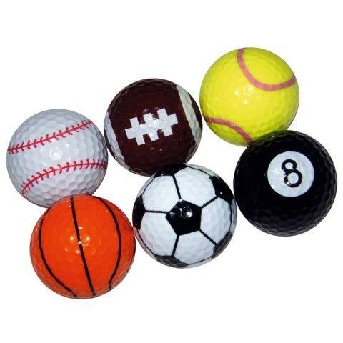 Longridge Sports Golf Balls - Sports & Hobbies - Golf - Mens Gifts from Menkind