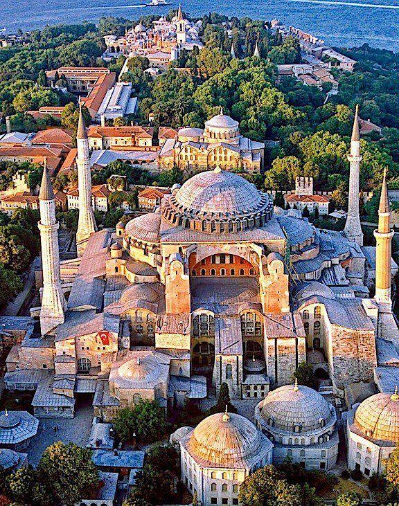 Estambul, Turquía. Catedral de Santa Sofía