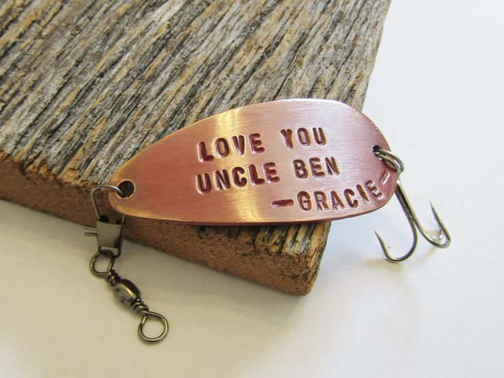 Gift for Uncle Fishing Lure Uncle Gift from Nephew Wedding Gift for Uncle To Be Niece to Uncle Best Uncle Ever I Love My Uncle Gift Idea Him by CandTCustomLures on Etsy