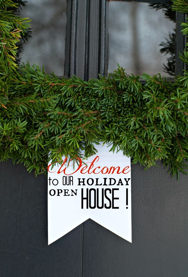 let us host a holiday open house