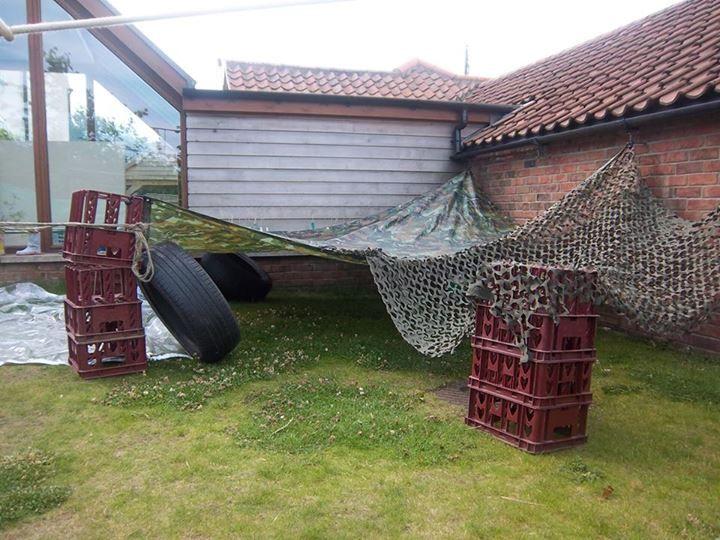 """Den building at Lincolnshire Montessori ("""",)"""