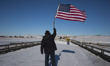 12/4/16 - Obama Administration Halts Construction Of Dakota Access Pipeline