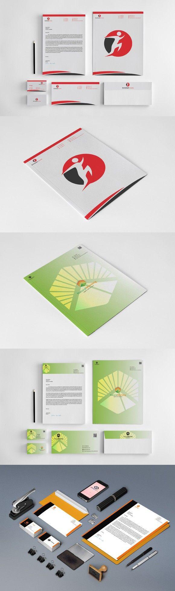 Creative Stationery Bundle. Stationery Templates