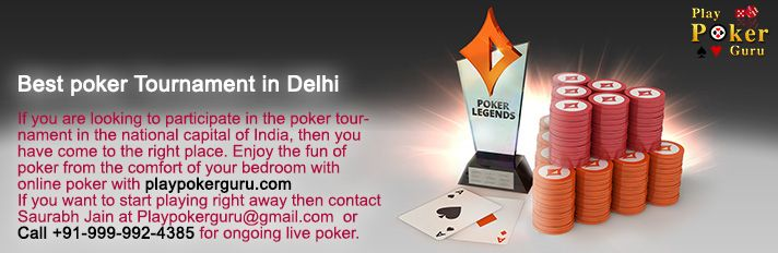 All you need is really good presentation skills, both in life and in poker with a fair share of observational skills and a really small, negligible percentage of luck. What you should never forget however is that you make your decisions. Join this battle of wits and cunning by Contacting Saurabh Jain at Playpokerguru@gmail.com  or call +91 - 999 - 992 – 4385 for ongoing live poker.
