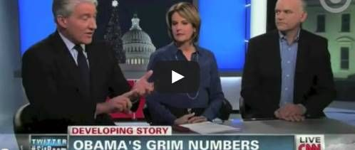 """CNN's John King: Obama is """"0 for 2013"""" During panel discussion on Obama's falling poll ratings when it comes to his legislative achievements"""