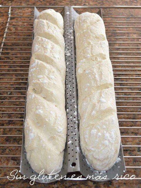 Sin gluten es más rico: Baguettes sin gluten...