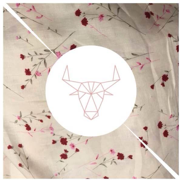 Tissus fabriqués  #doublures #lin #intérieur #pink #maroquinerie #printemps #brand #flower #lepetitcartel