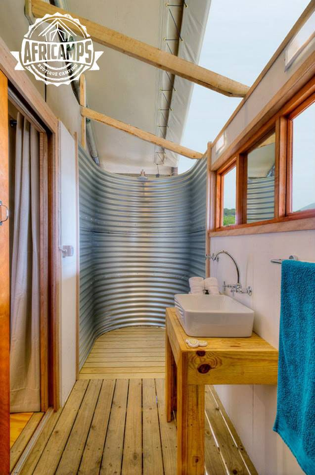 Shower Luxury Camping