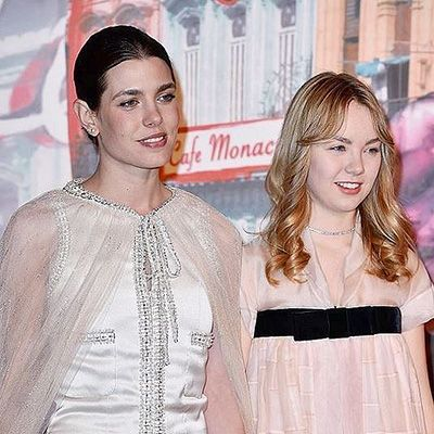 Шарлотта Казираги и принцесса Александра