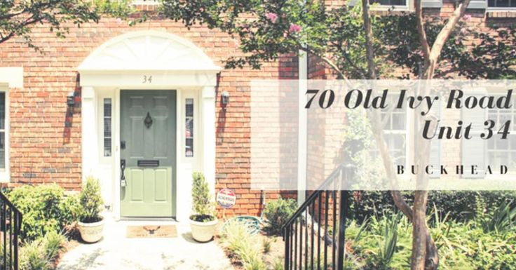 Just Listed and Open Until 4 pm today!  Lovely townhome in prime Buckhead location! This unit boasts the community's largest floor plan and a private courtyard beyond its entertaining friendly brick patio!  Can't make the open house? Call our office to schedule a showing! 404-591-6518  #EYA #dorseyalston #openhouse #buckhead #buckheadatlanta #atlantarealestate #justlisted #atlantarealtor