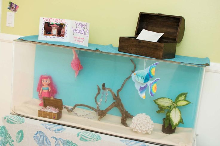 Aquarium Decoration Ideas For Kid ~ http://www.lookmyhomes.com/creative-aquarium-decoration-ideas/