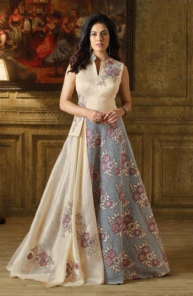 70f04efd76 Designer Reception Wear Art Silk Gown Wholesale Collection  shopping   clothing  gowns  fashion