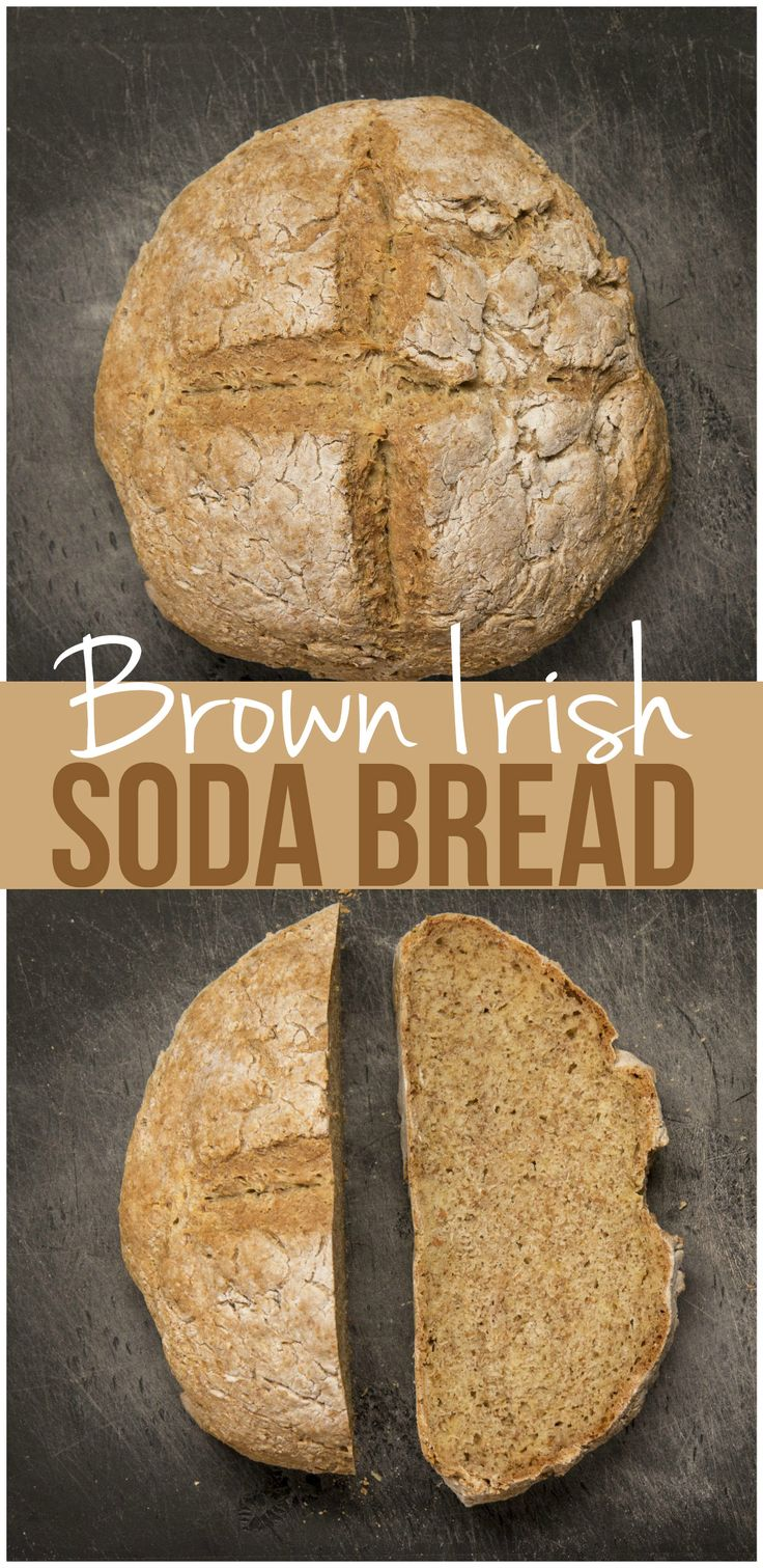 Brown Irish Soda Bread Here's what you'll need: 250g (1 cup 240 grams) brown wholemeal flour 250g plain flour 1 tsp salt 1 tsp bicarbonate of soda 350-400ml Buttermilk (250 is one cup. 350 would be a cup and a half. Source(s):buttermilk (note below on how to make your own buttermilk.. in 1 cup milk add 1 tbsp lemon juice)