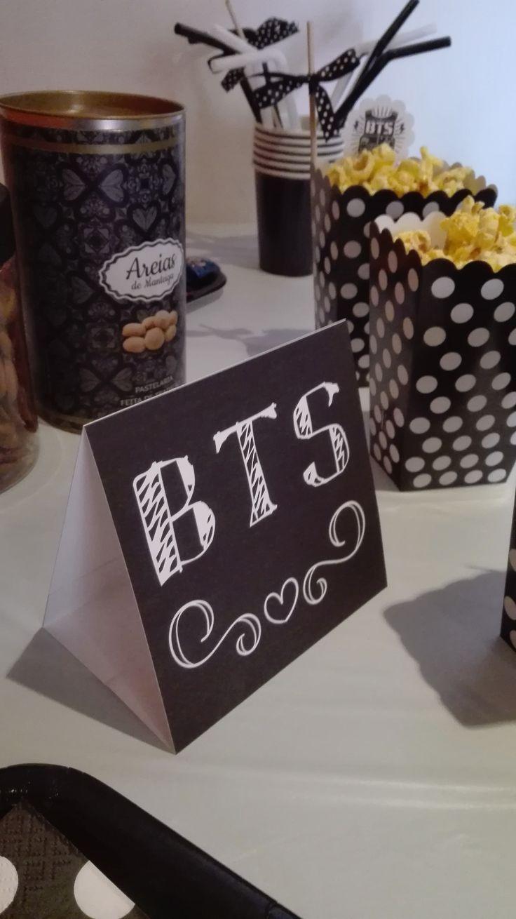 Festa BTS BTS party decoration