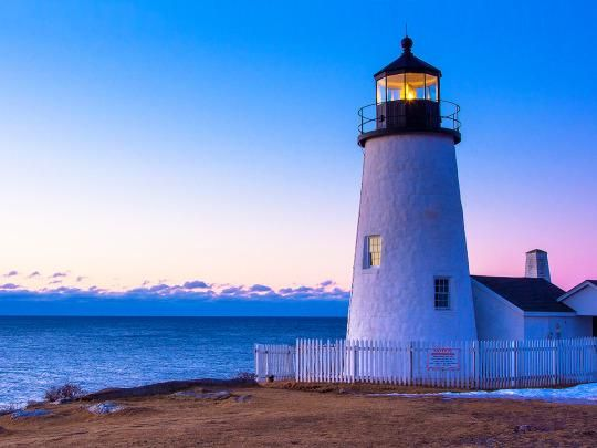 If you visit Pemaquid Point Lighthouse in Maine, don't forget to take in the view.