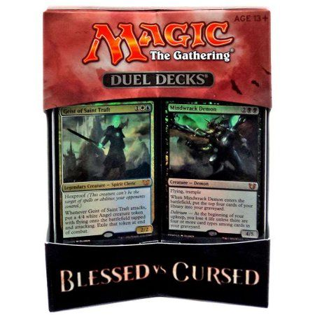 MtG Duel Decks: Blessed vs Cursed Blessed vs Cursed Duel Decks, Multicolor