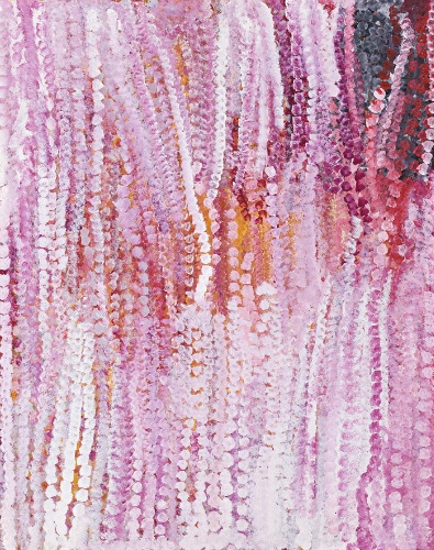 Alalgura Country | Emily Kame Kngwarreye Wildflower dreaming | 1994. A favourite, I'm so in love with this piece