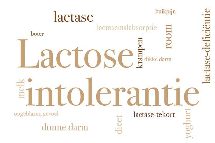 Het is een lactose intolerantie..
