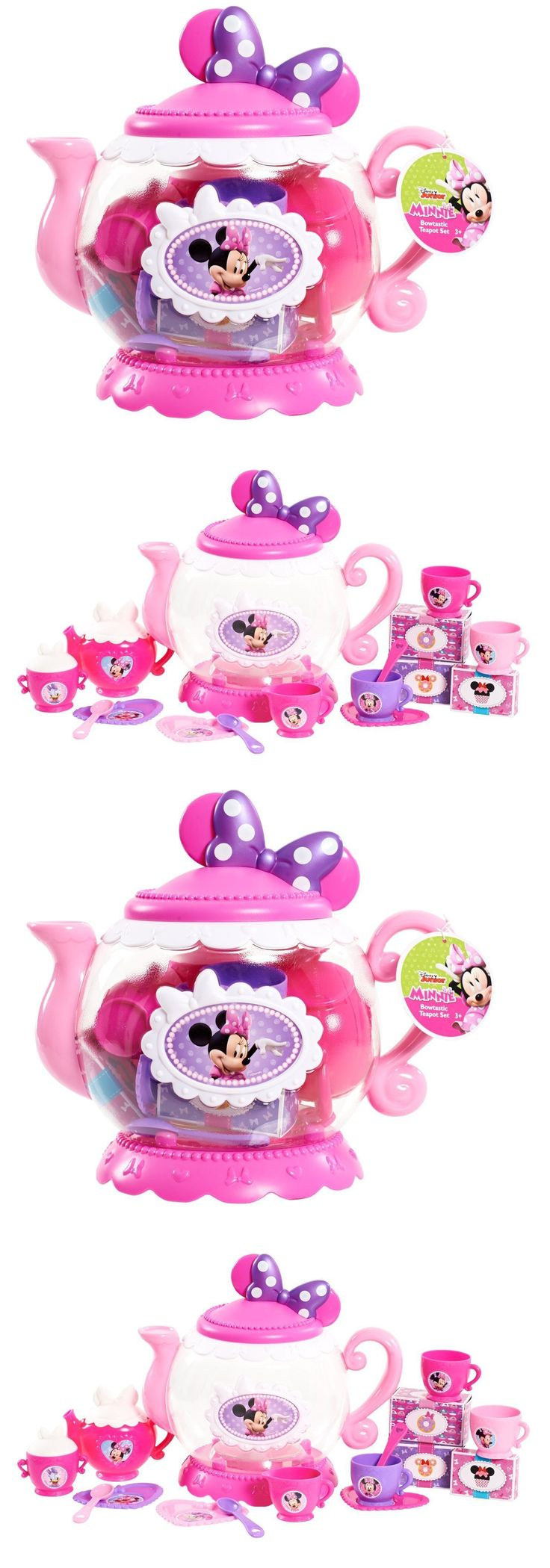 Dishes Tea Sets 19171: Minnie Mouse Teapot Tea Party Play Set Kids Pretend Play Girls -> BUY IT NOW ONLY: $35.51 on eBay!