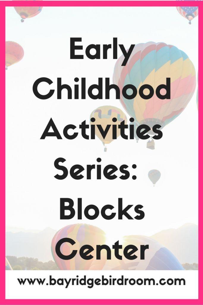 Early Childhood Activities Series: Block Center