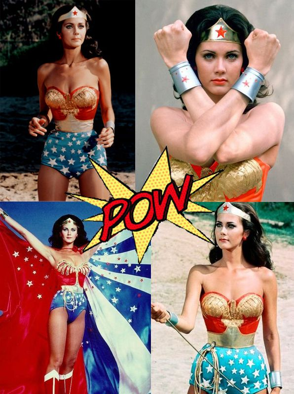 Wonder Woman!!  I wish they made Wonder Woman Underoos for grown folks!  I'd so…