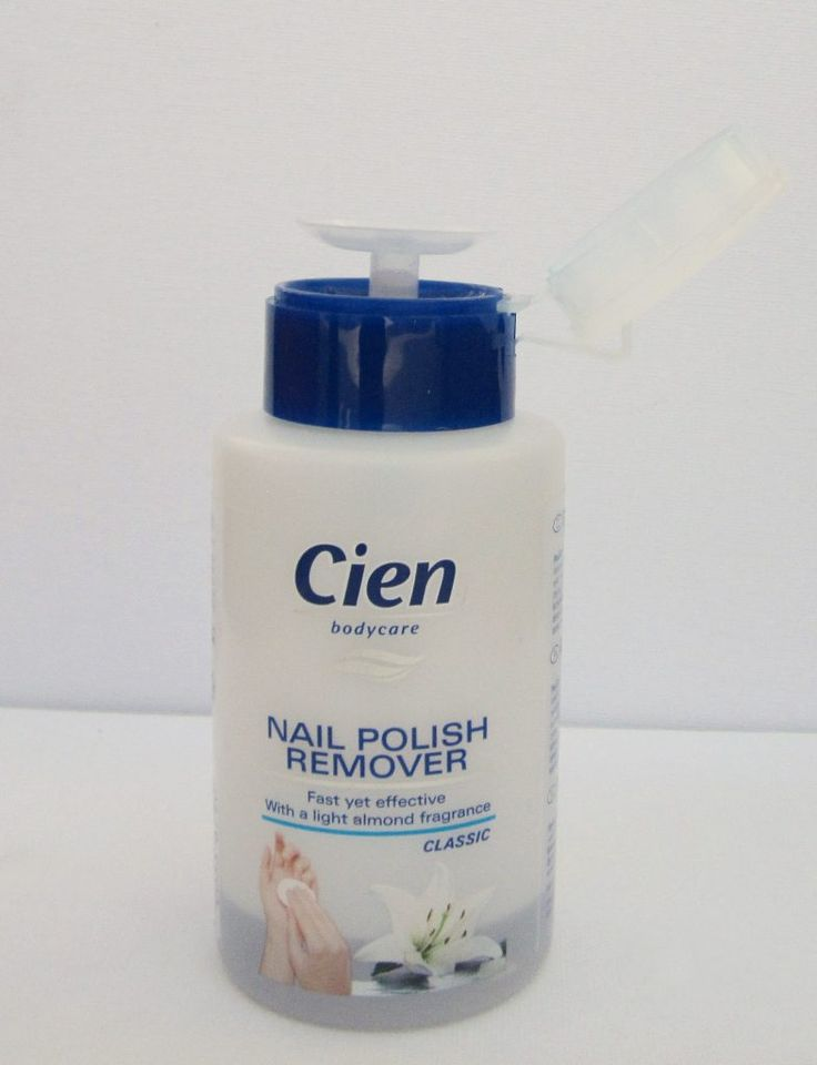 The best solution I found for removing nailpolish: Cien, a review