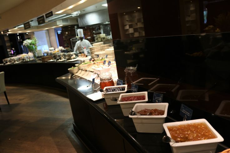 Breakfast buffet at Sheraton Stockholm Hotel