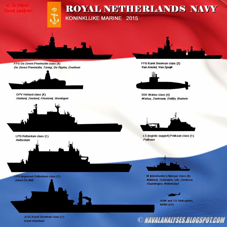 The Royal Netherlands Navy