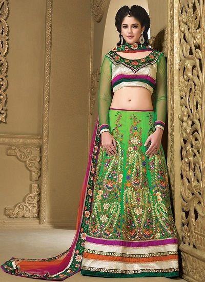 Traditional Bollywood Pakistani Choli Bridal Indian wear Ethnic Wedding Lehenga #kriyacreation #ALineLehenga