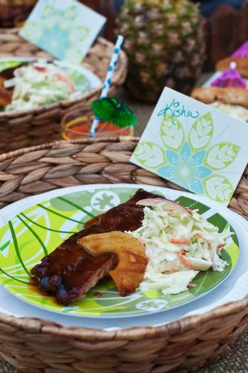 hostess with the mostess backyard luau party ideas pinterest