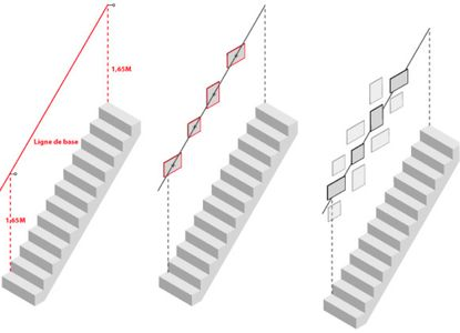 les 25 meilleures id es de la cat gorie murs d 39 escalier sur pinterest d cor de mur de l. Black Bedroom Furniture Sets. Home Design Ideas