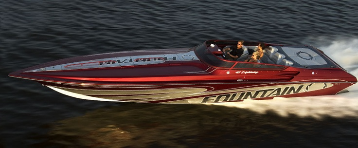 bateau offshore 42 LIGHTNING Fountain Powerboats. WANT!!!