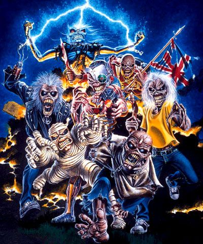 Iron Maiden!! The best band ever!!!