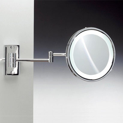 Windisch by Nameeks 9 Fluorescent Light Extendable 5X Magnifying Mirror