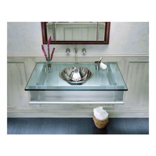 Robern S Floating Glass Vanity Is Simple Elegant And Has