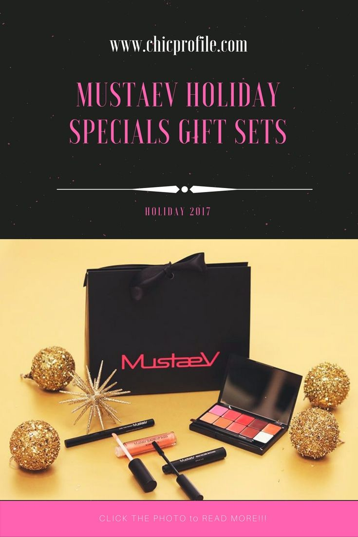 MustaeV Holiday 2018 Essentials features three gift sets at an amazing value filled with full size skincare and makeup products. via @Chicprofile