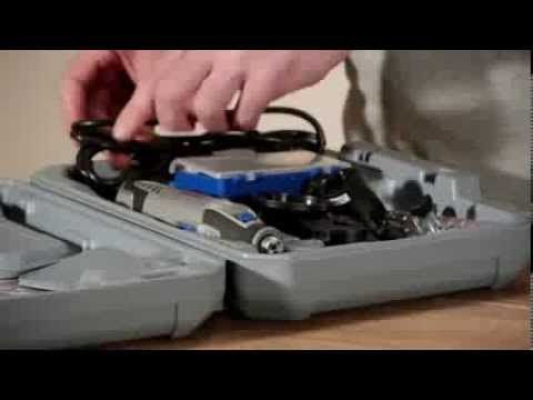 Dremel 4200 Corded Rotary Tool Kit: Unboxing