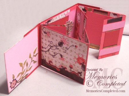 ** Il mio Crafting.com carta **: flip Tutorial Album