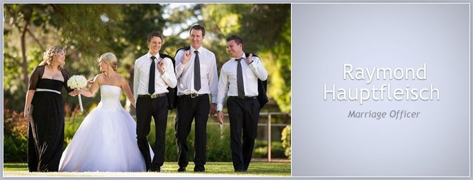 Raymond Hauptfleisch - Johannesburg Marriage Officers | Wedding Ceremony