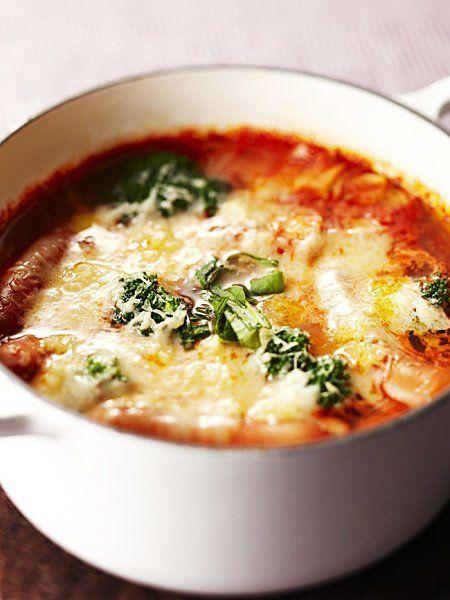 Recipe : コンテチーズのトマト鍋/コンテチーズで、流行のトマト鍋をおしゃれ&おいしくアレンジ! #レシピ #Recipe