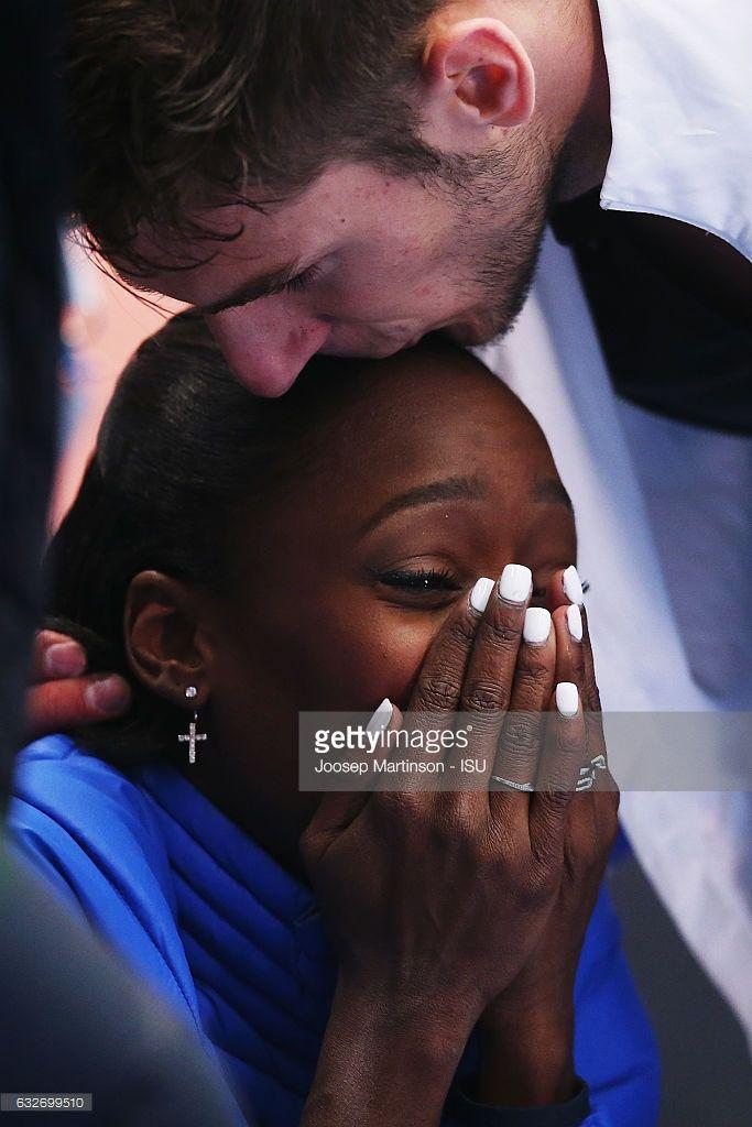 Vanessa James And Morgan Cipres Of France React After